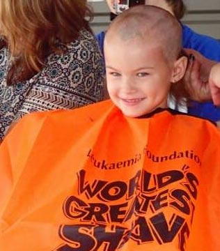 Molly, Year 2, NSW - Molly goes out of her way to help others when she can, including having all her hair shaved off to raise money for the Leukaemia Foundation.