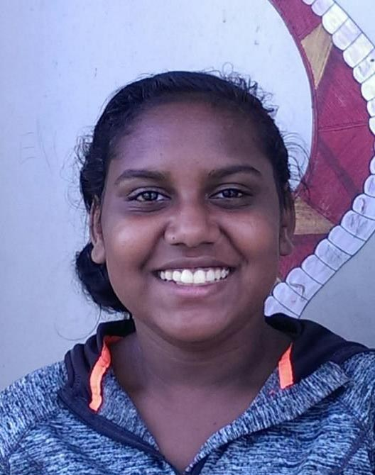 Shenai, Year 10, NT - Shenai has recently been elected as the student representative for her School Board, and is proving to be a strong leader and great role model for her peers.